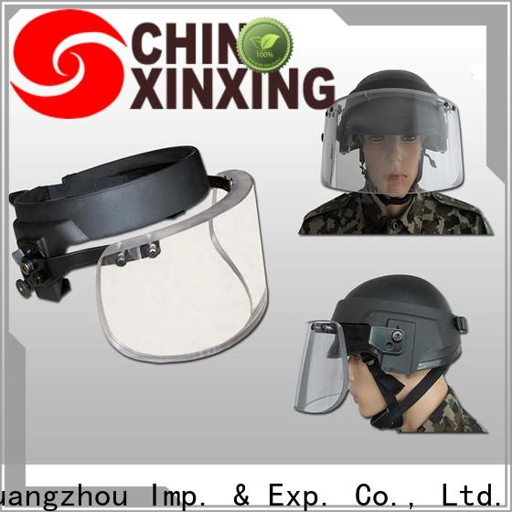 China ballistic visor trader for police