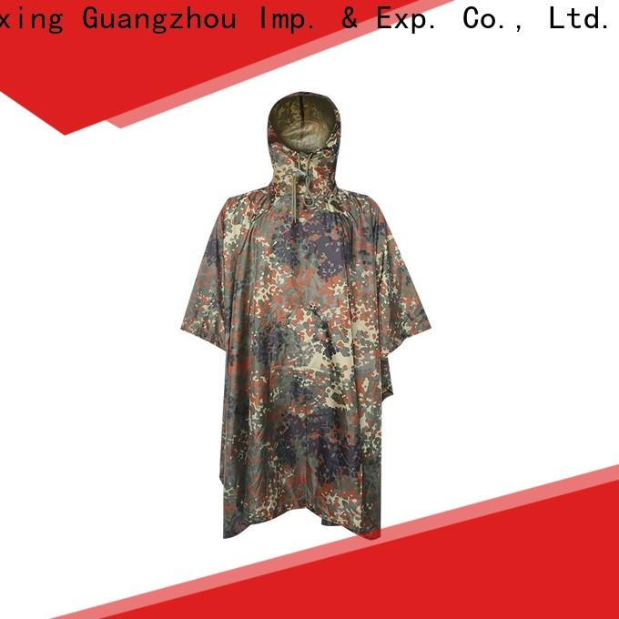 China poncho raincoat factory for sale