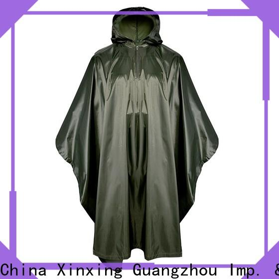 100% quality poncho raincoat supplier for sale