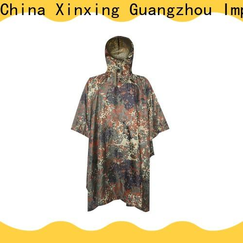 top quality poncho raincoat factory for helmet