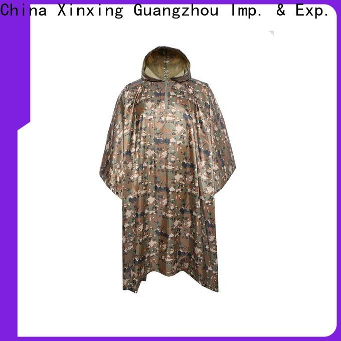 top quality waterproof poncho factory for police