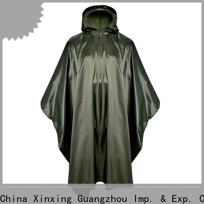100% quality poncho raincoat trader for helmet