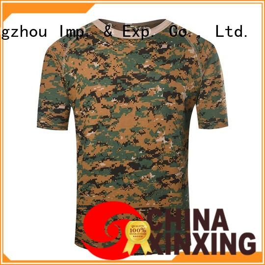 XinXing army shirt awarded supplier for soldiers