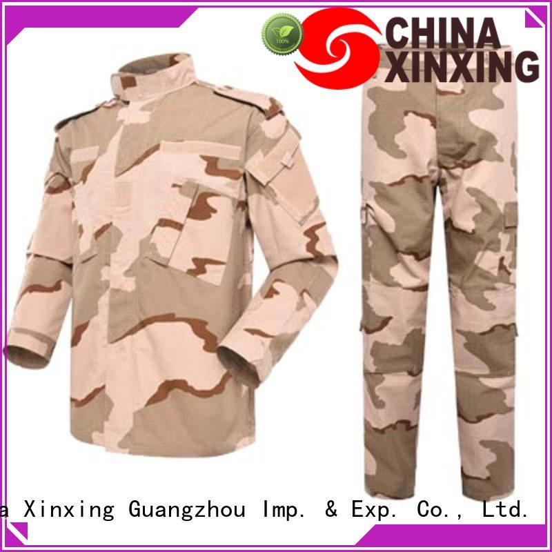 XinXing wool army clothes factory for wholesale