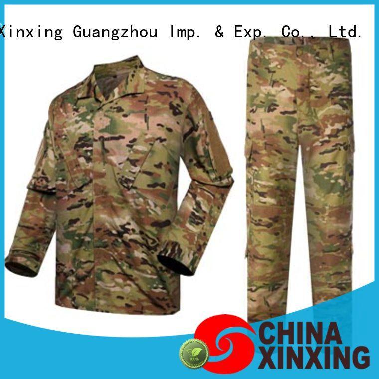 XinXing army combat uniform manufacturer for policeman