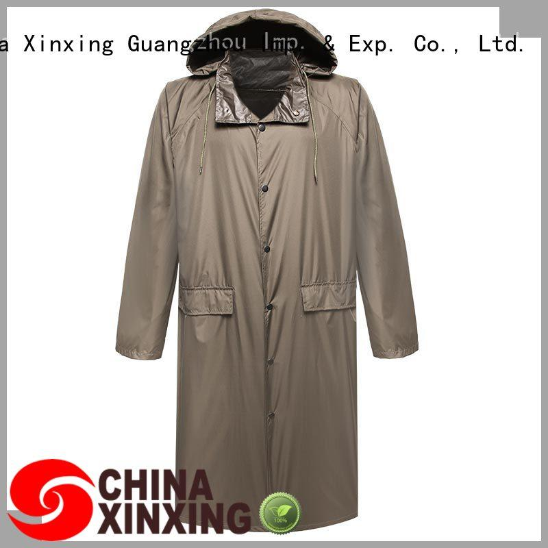 XinXing China poncho raincoat manufacturer for police