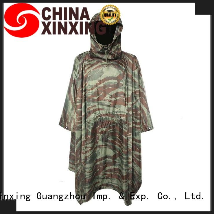 XinXing top quality poncho raincoat trader for helmet