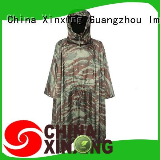 XinXing rain poncho manufacturer for sale