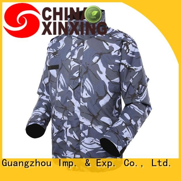 XinXing military field jacket eco-friendly