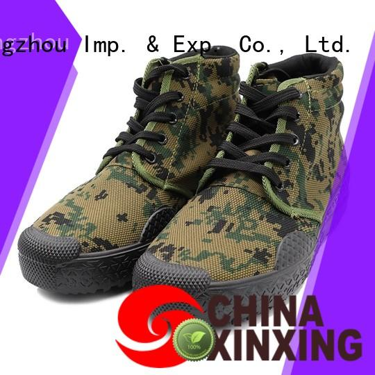 XinXing cheap canvas shoes trader for soldier