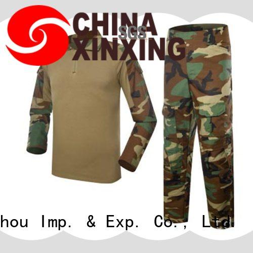 XinXing cotton military raincoat manufacturer for police