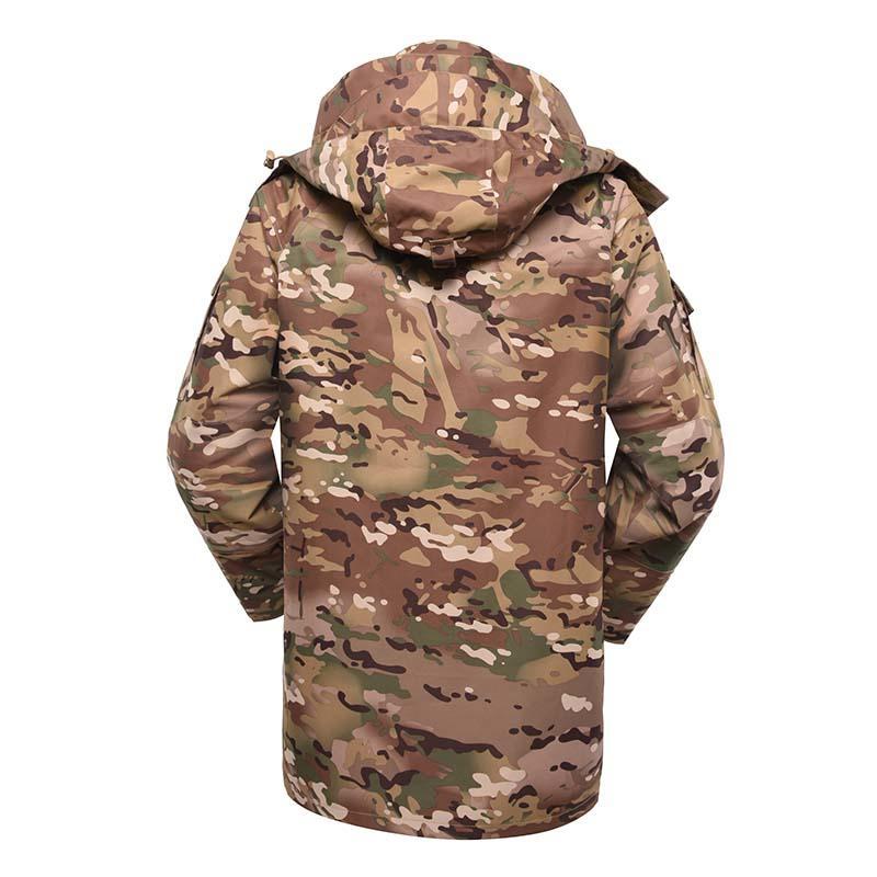 Military winter fleece jacket for soldier MJ01