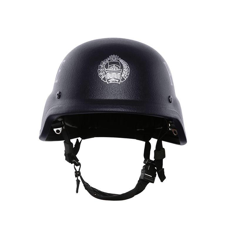 Bulletproof Helmet NIJ IIIA Aramid PE Black of BHXX001