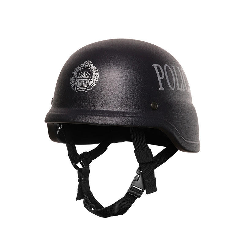 Bulletproof Helmet NIJ IIIA Aramid PE Black of BHXX001