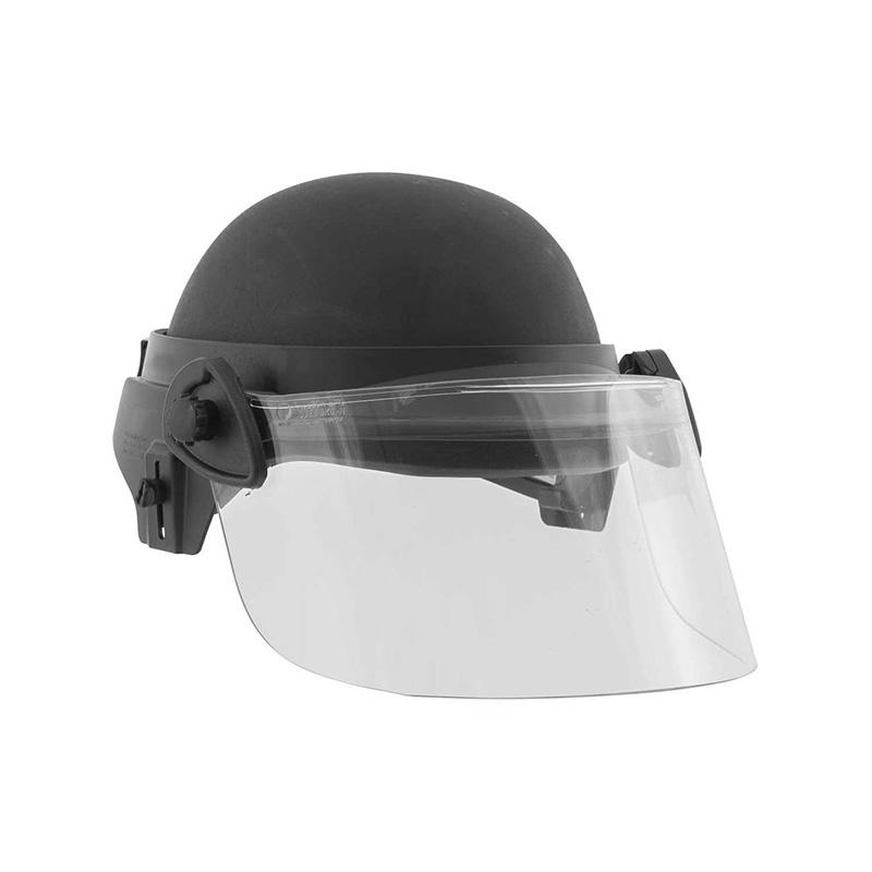 NIJ LEVEL III-A HELMET BALLISTIC VISOR BULLETPROOF GLASS MASK