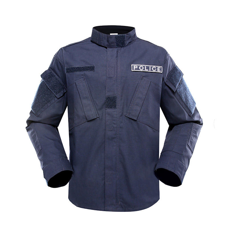DARK BLUE COLOR TC65/35 210GSM POLICE UNIFORM PUXX01