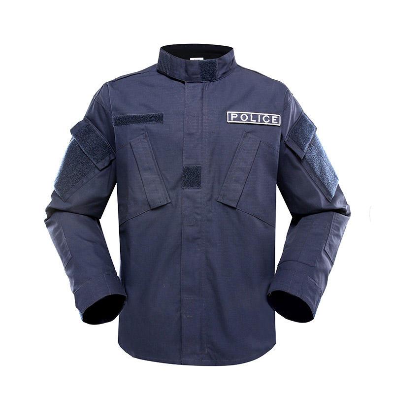 DARK BLUE COLOR TC65/35 210GSM POLICE UNIFORM PUXX01