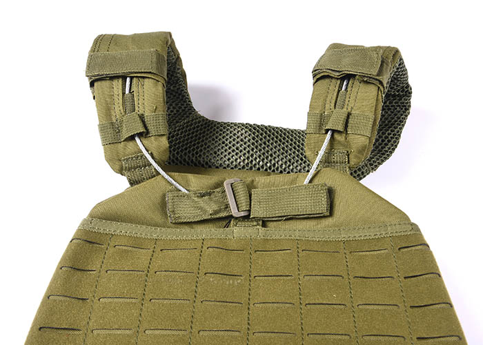 Tactical Vest 600D Polyester Oxford Olive Green Yemen Army GXTV-01-5