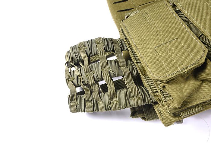 Tactical Vest 600D Polyester Oxford Olive Green Yemen Army GXTV-01-6