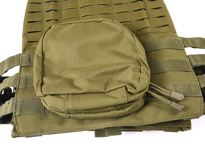 Tactical Vest 600D Polyester Oxford Olive Green Yemen Army GXTV-01-8