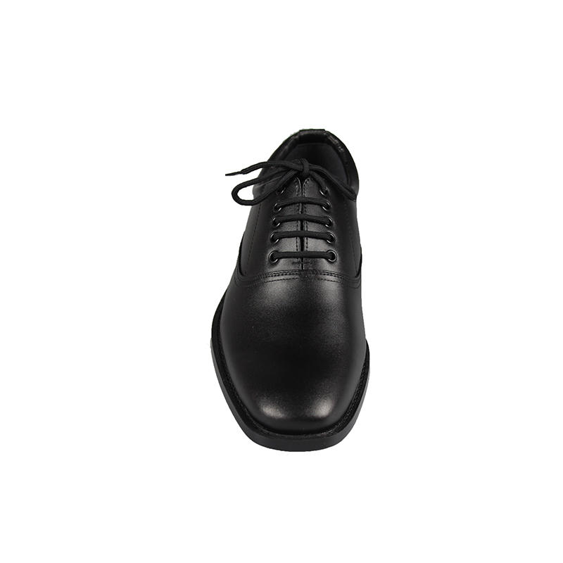 High quality genuine leather military&army officer shoes rubber outsole dress shoes MS01