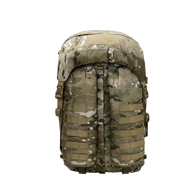Military backpack durable polyester camouflage combat outdoor hiking backpack