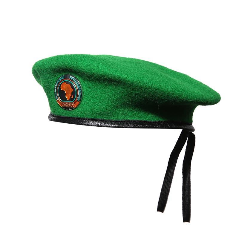 Beret with insignia for African Union