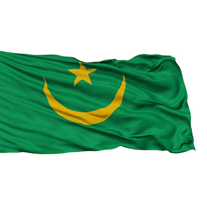 National flag+ Mauritania