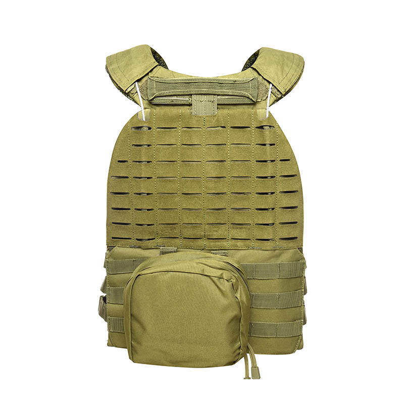 Tactical Vest 600D Polyester Oxford Olive Green Yemen Army GXTV-01-2