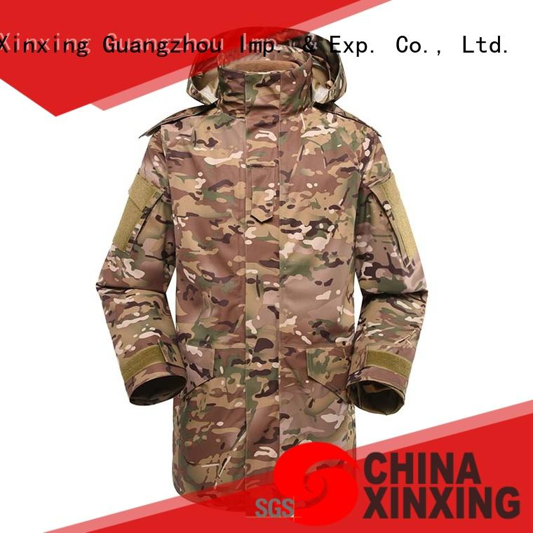 XinXing military uniform maker polyester for soldiers