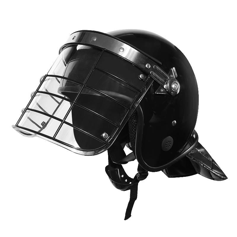 100% quality police riot helmet polycarbonate trader for army-2