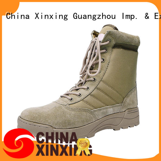 XinXing suede leather army desert boots trader for sale