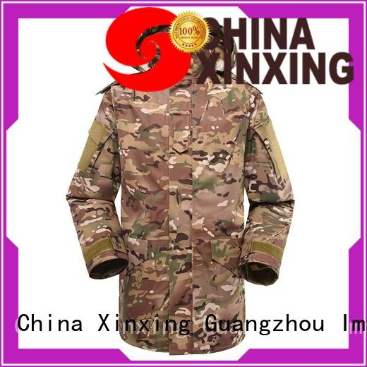 XinXing blue military raincoat trader for policeman