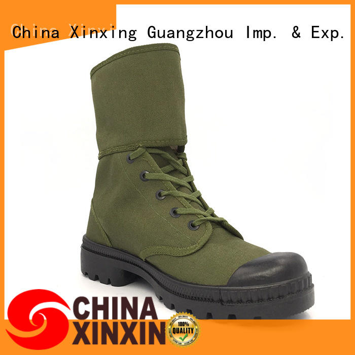 100% quality military desert boots canvas factory for sale