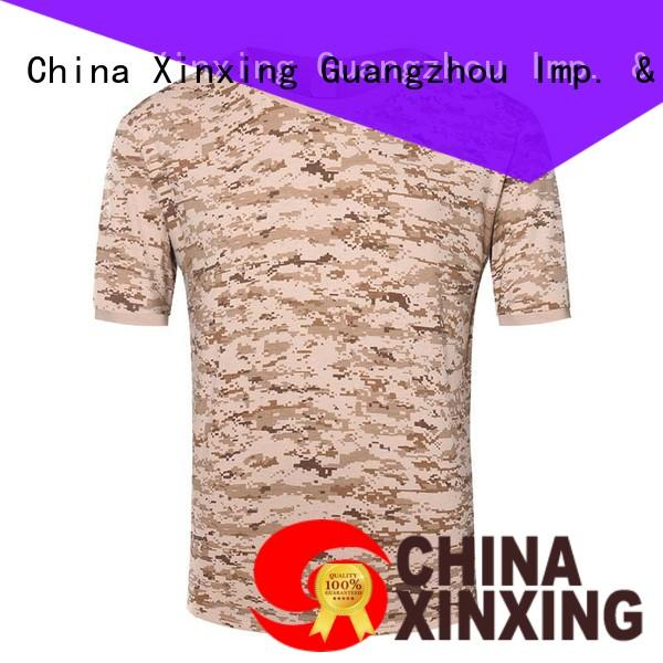 XinXing military t-shirt manufacturer for sale