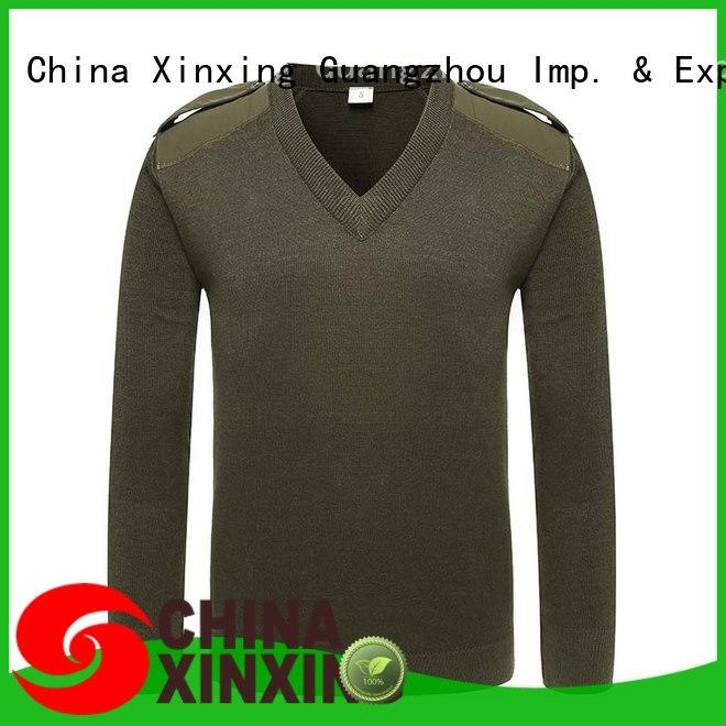 XinXing stable supply military sweater factory for sale