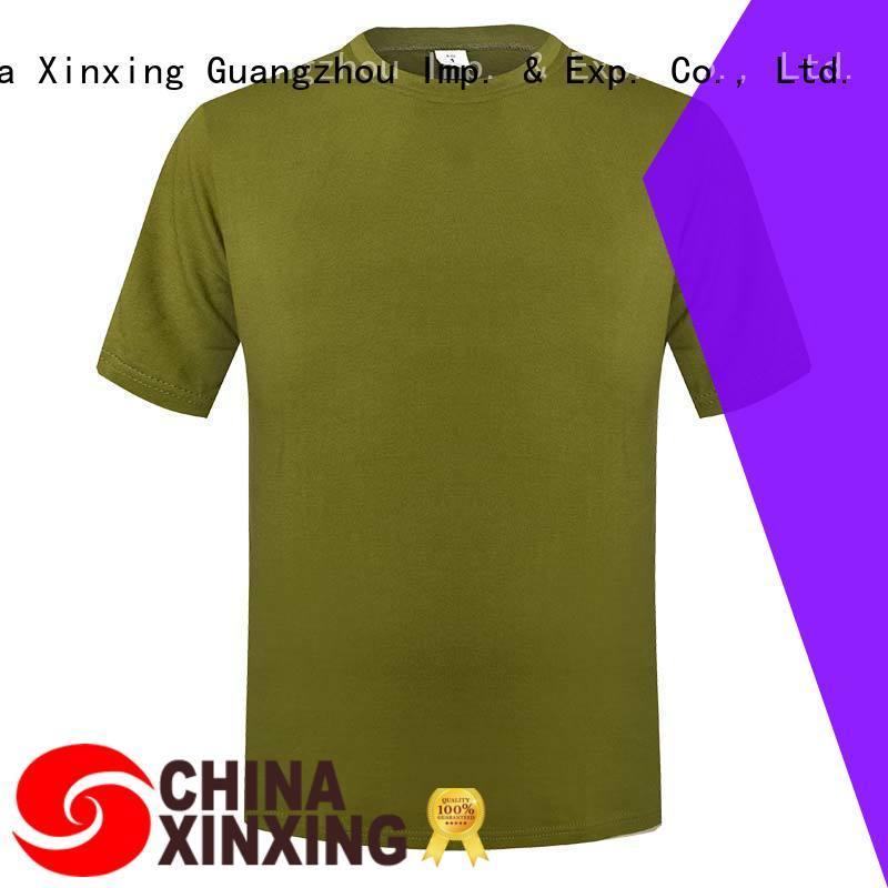 XinXing army t shirt factory for sale