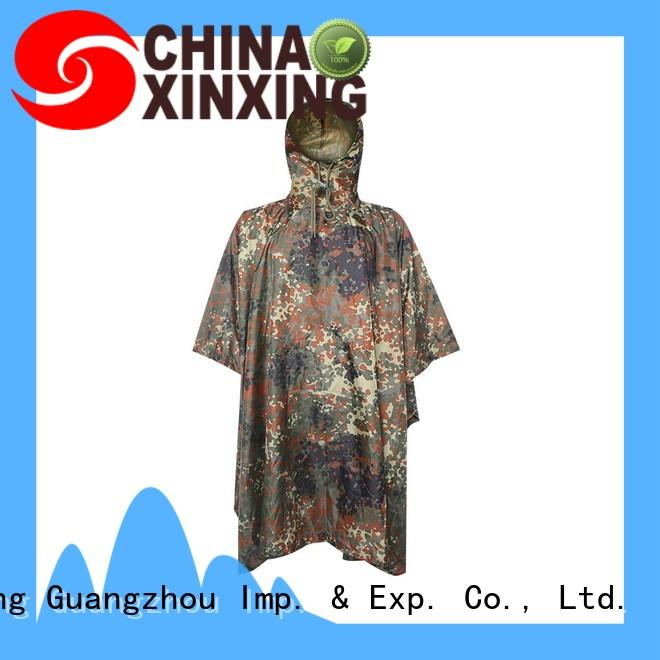XinXing 100% quality poncho raincoat factory for police