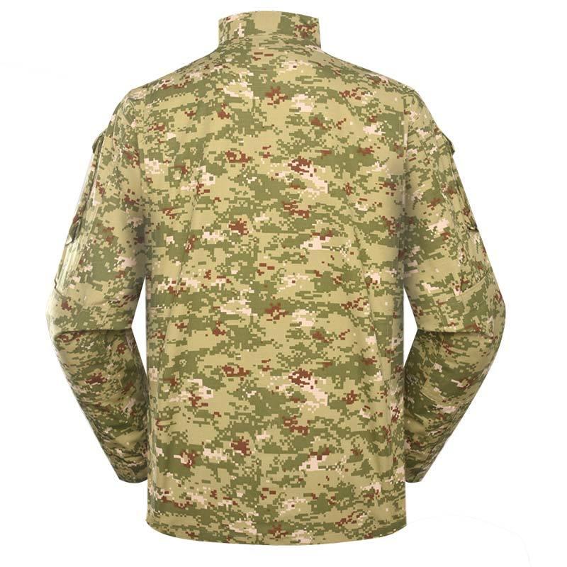 Kuwait military uniform Digital woodland camouflage CVC 50/50 210GSM for Kuwait army force MFXX04