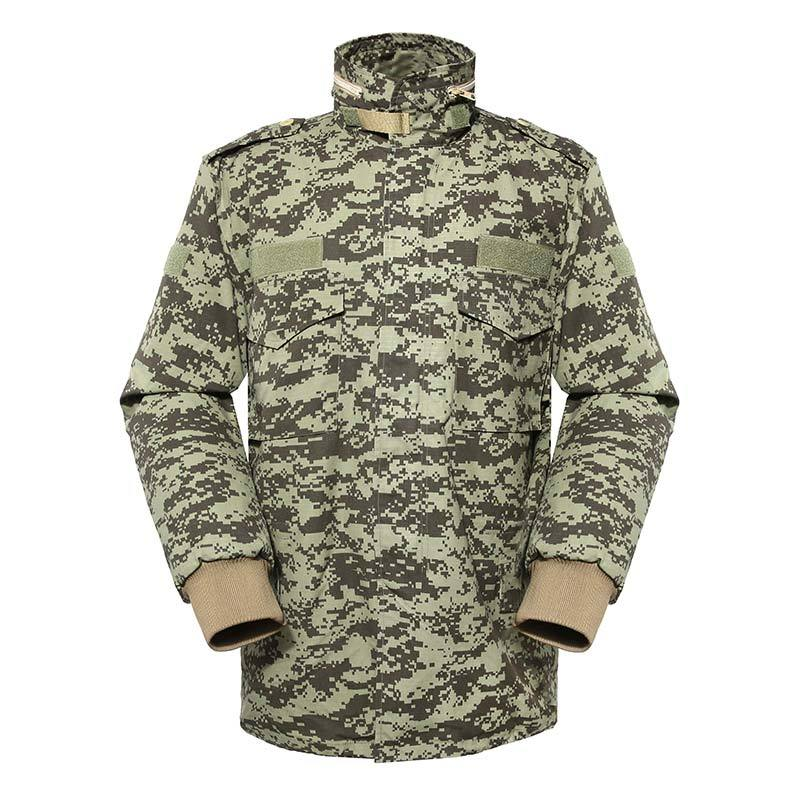 Military winter fleece jacket for soldier MJ02