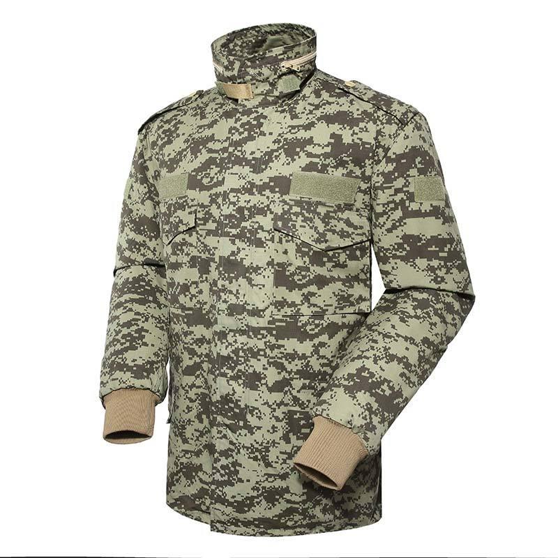 Military winter fleece jacket for soldier MJ02