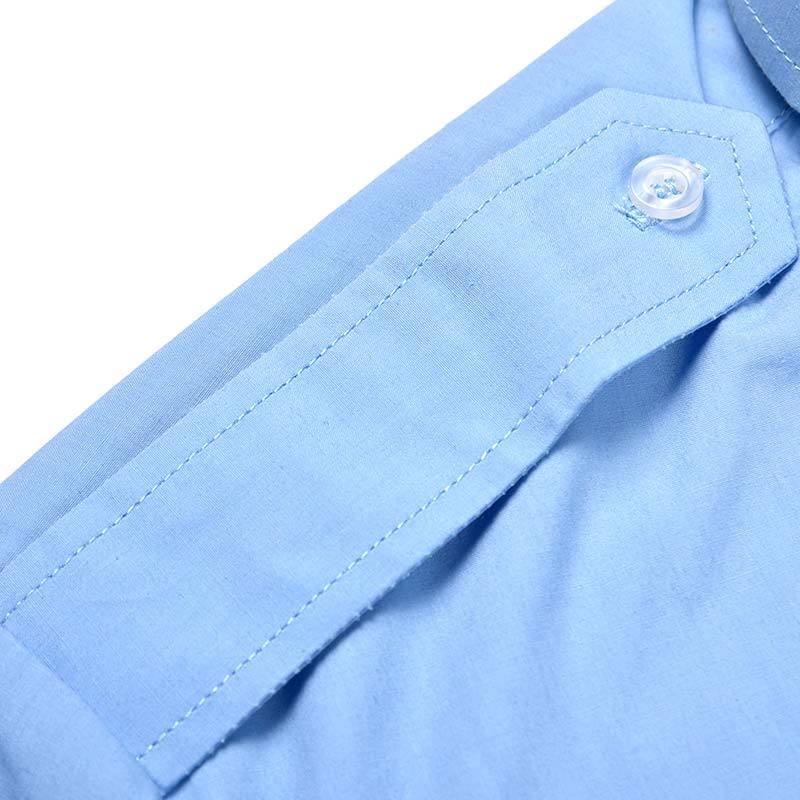 Official Short-sleeve Shirt Khaki TC 120 GSM for Angola Police OSXX03