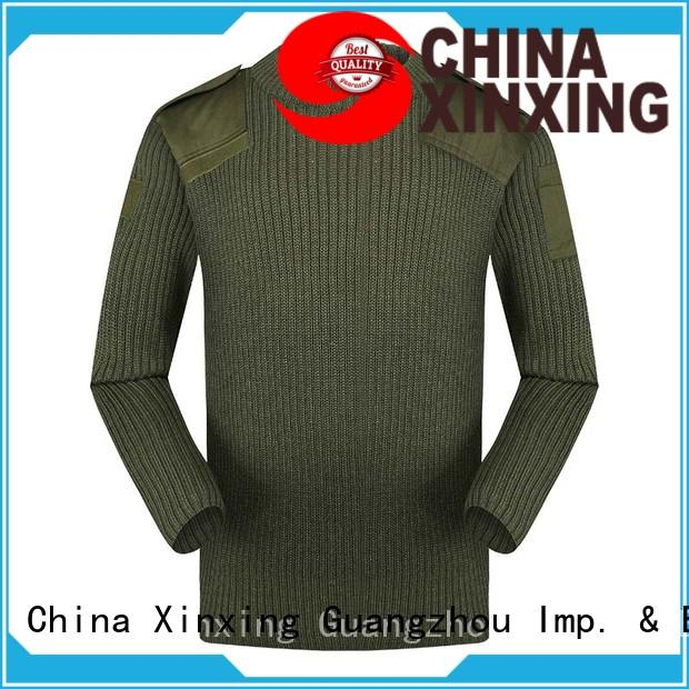 XinXing army sweater trader for policeman
