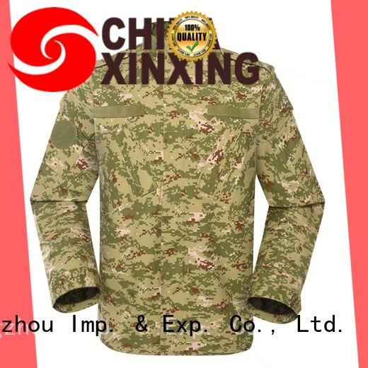 XinXing stable supply army combat uniform trader for sale