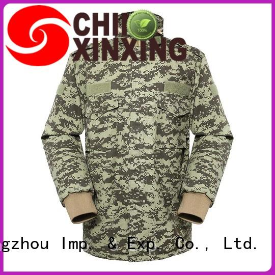 XinXing army style jacket manufacturer for importer
