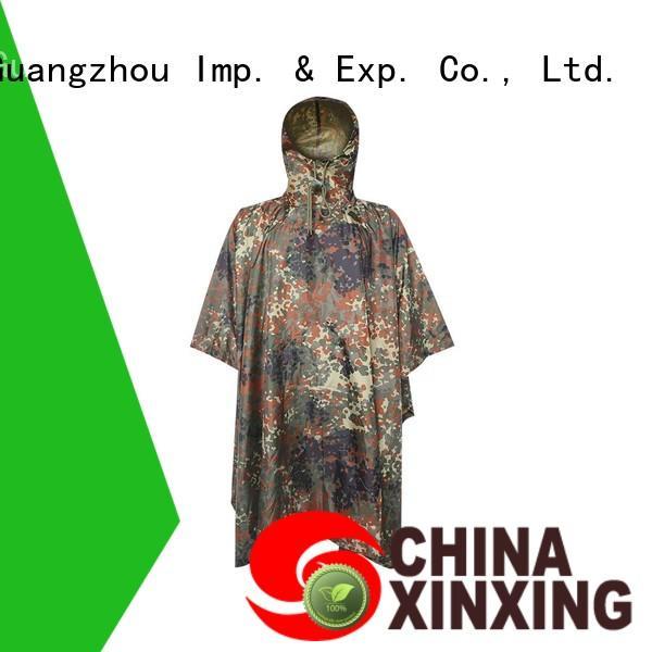 XinXing 100% quality poncho raincoat supplier for helmet