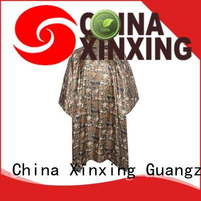 XinXing top quality poncho raincoat factory for helmet