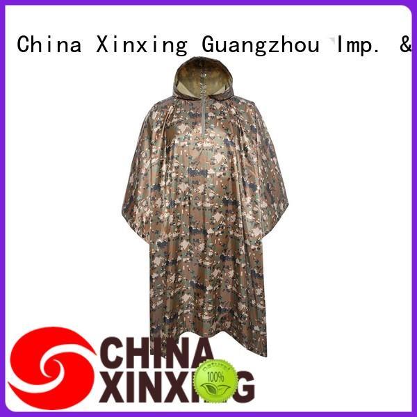 XinXing poncho raincoat factory for sale