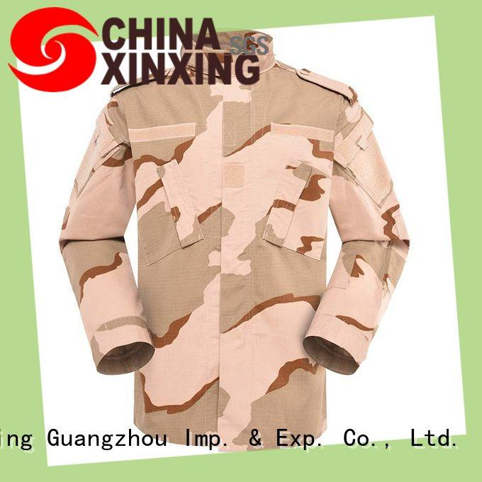 XinXing stable supply army jackets manufacturer for policeman