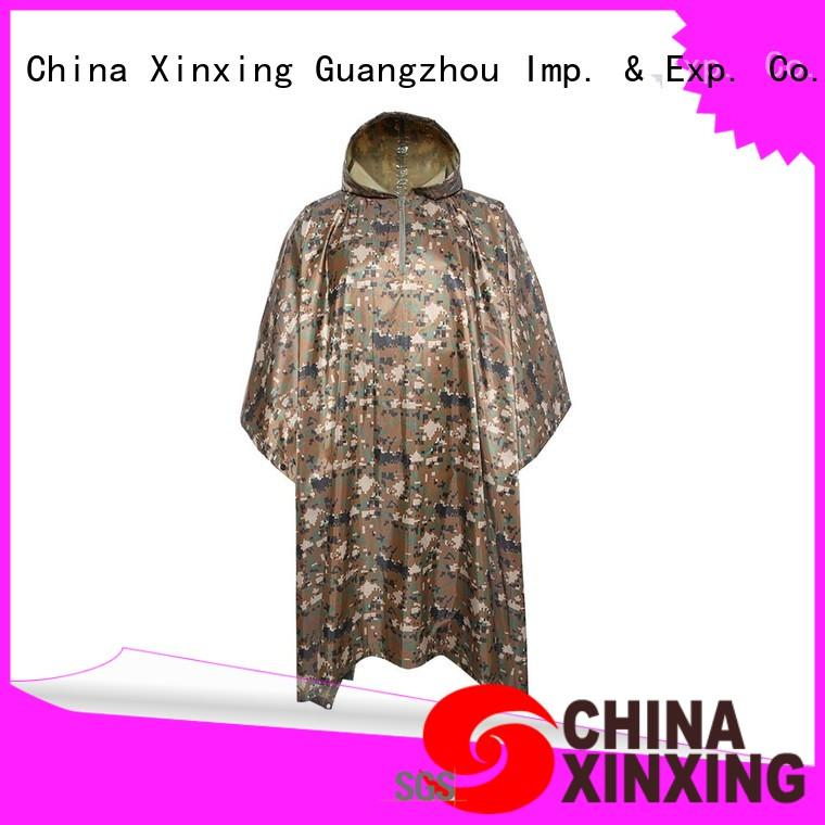 China waterproof poncho factory for police